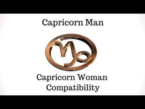 Capricorn Man and Capricorn Woman Compatibility
