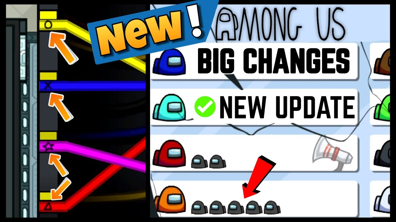 NEW* AMONG US UPDATE - 3 BIG CHANGES IN AMONG US - HOW TO PLAY NEW VERSION AMONG  US - YouTube