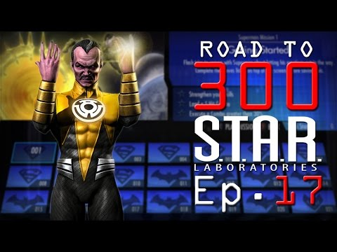 Road to 300 - Ep.17 - Sinestro (S.T.A.R. Labs Mission 161-170)