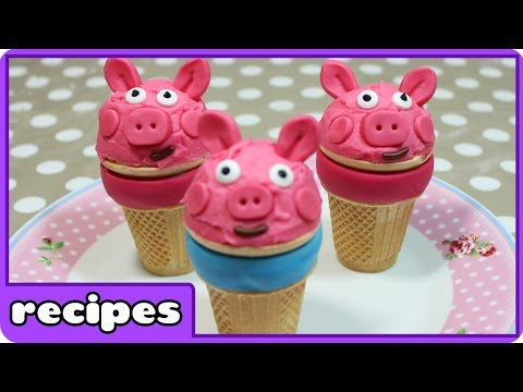 Peppa Pig Ice Cream Recipe | Fun Food Ideas | Learn How To Cook With HooplaKidz Recipes
