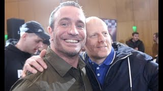 YOU TAKING OVER? -KALLE SAUERLAND - 'ABSOLUTELY' -CULT HERO KALLE IS MOBBED @ GROVES-EUBANK WEIGH IN