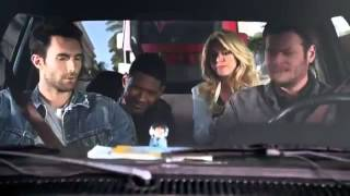 The Pick up - The Voice. Season 4 (Shakira & Usher NEW COACHES)