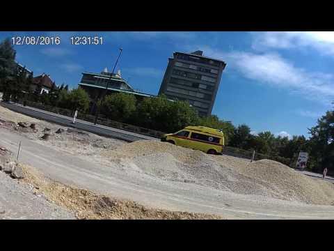Ambulance responding UKC LJUBLJANA