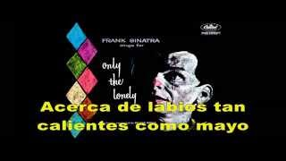 Frank Sinatra Only The Lonely Subtítulos En Español