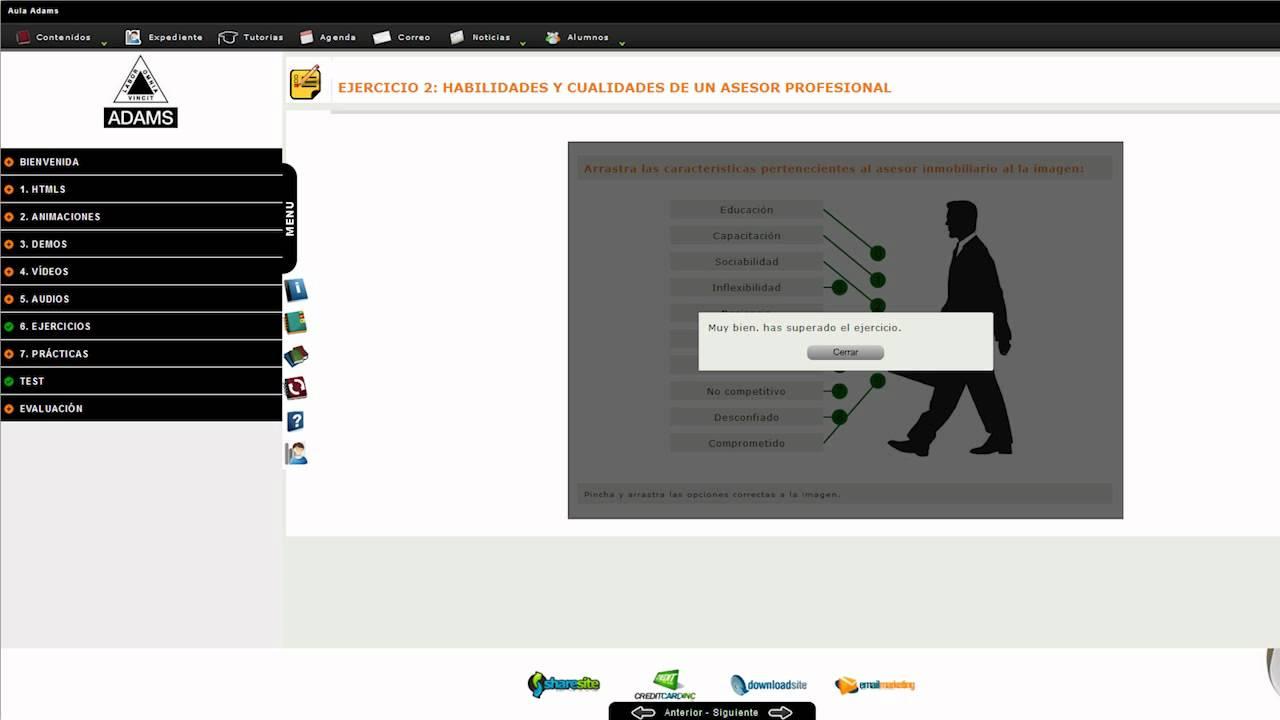Nuevo Campus Virtual De Adams Youtube