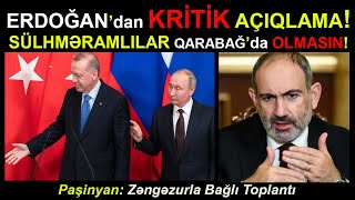 ŞOK!!! Erdoğan Rusiya Sülhməramlılarını QARABAĞDA İSTƏMİR! Son xeberler. Sen de izle!