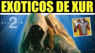 Destiny 2 - XUR TRAE UN EXÓTICO CHETADISIMO PARA PVP! LOCALIZACIÓN DE Y RECOMENDACIONES DE EXÓTICOS!