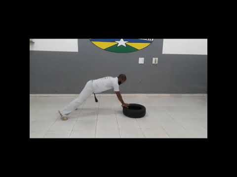 Mestre Café Capoeira Raízes de Rondônia.