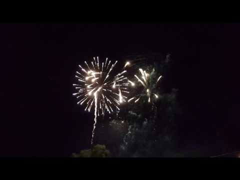 West Point, NE Fireworks 2017