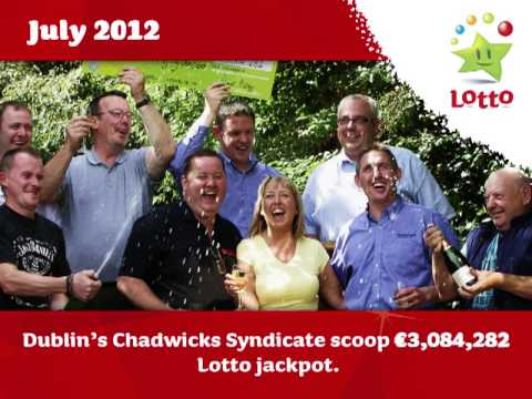 In 2012 National Lottery Players Shared €406.4 Million in Prizes