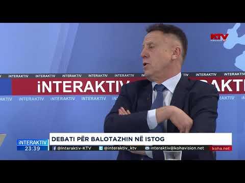 Interaktiv Debati për balotazhin në Istog 15 11 2017
