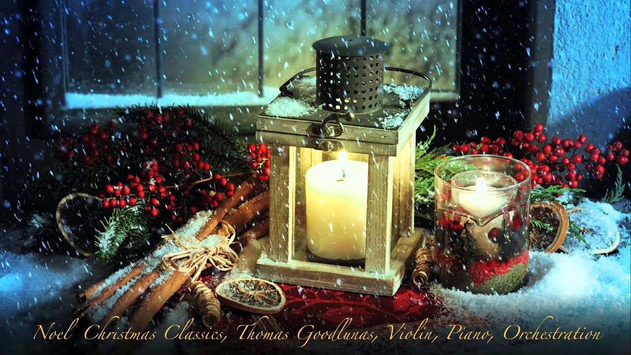 relaxing instrumental christmas classics for violin piano and orchestration - Christmas Classics