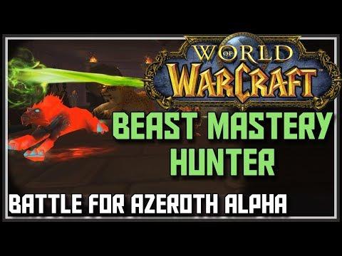 World of Warcraft Battle for Azeroth Alpha - Beast Mastery Hunter Changes - BFA Beast Mastery Hunter