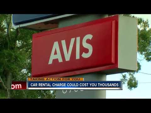 One Way Drop-off Fee Costs Rental Car Customer Thousands