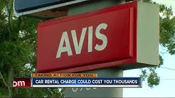 One way drop-off fee costs rental car customer thousands