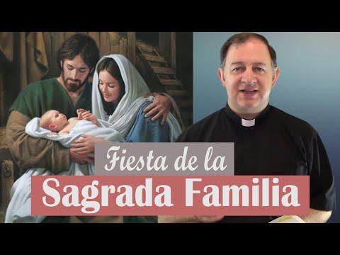 Fiesta de la Sagrada Familia - Ciclo A -  Jesús, José y María bendigan nuestras familias
