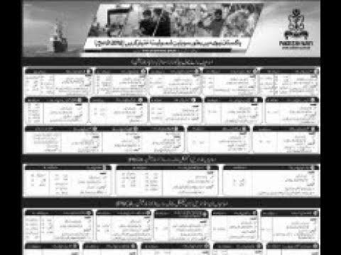 Pakistan Navy Jobs 2019 - Pakistan Navy Civilian Jobs April
