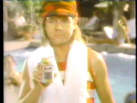 William Sanderson 1988 Diet A & W Root Beer Commercial