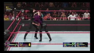 WWE 2k19 - Ronda Rousey & Sasha Banks vs. Nia Jax & Tamina