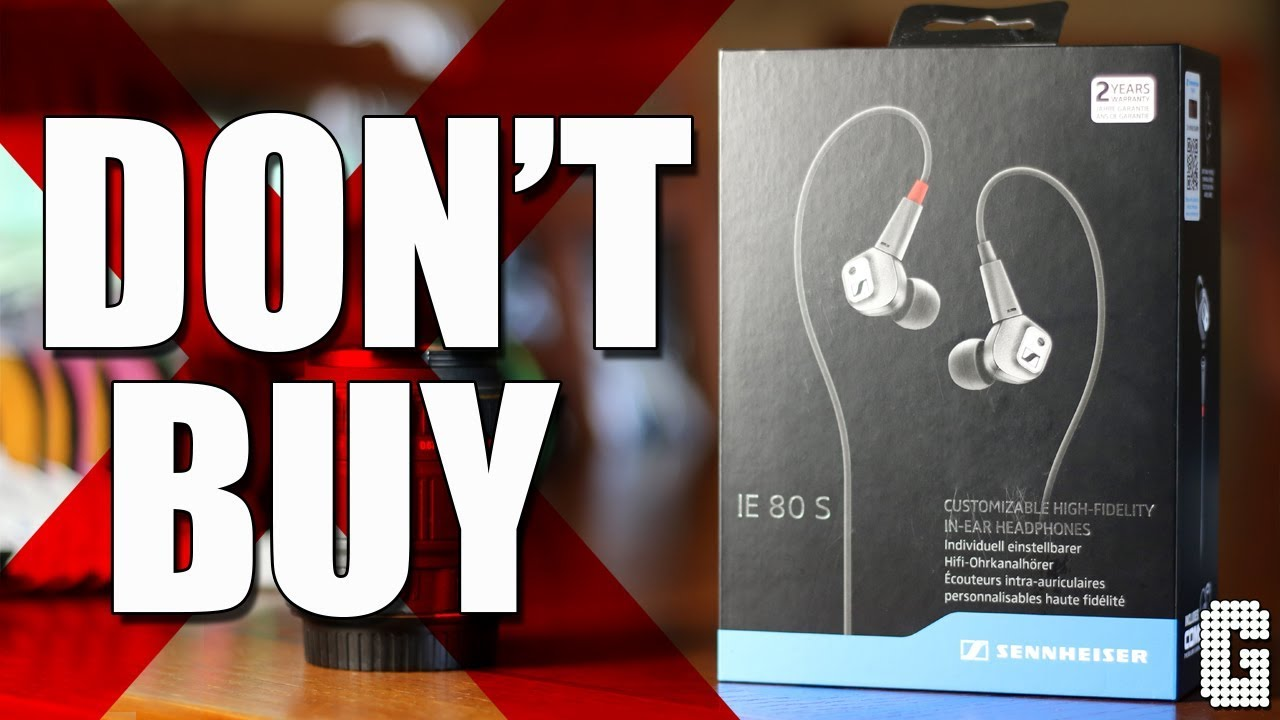Dont Buy The Sennheiser Ie80s Adjustable Bass Earbuds Youtube