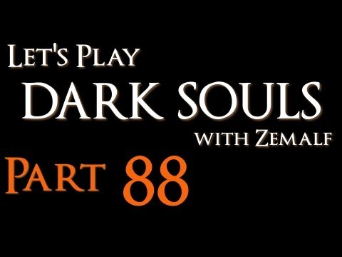 Let's Play Dark Souls - Part 88 - Platform Jumping and Forest Hunting [PTDE]