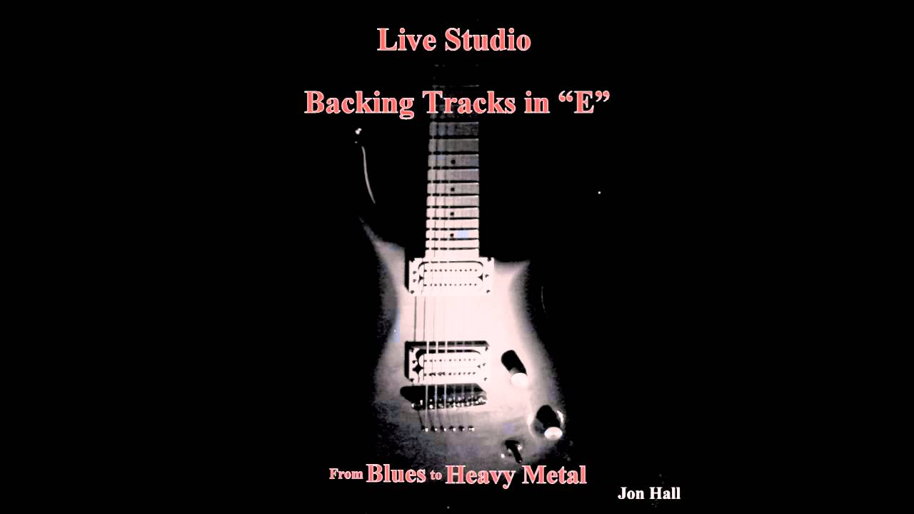 U2 Style in E - Guitar Backing Track