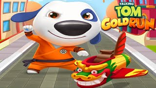 TALKING TOM GOLD RUN - KUNG FU HANK ALL WORLD RUN (Talking Tom Friends By Outfit)