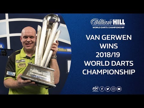 Van Gerwen wins the 2018/19 William Hill World Darts Championship