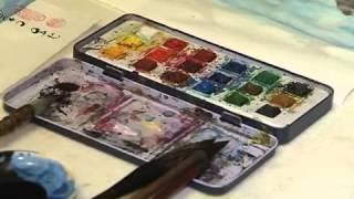 Японская живопись Суми-э с Катериной Чёрной