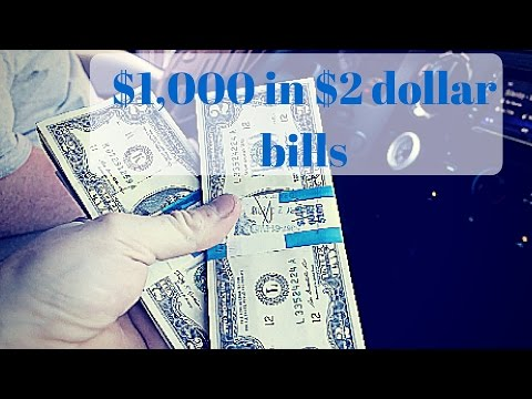 $1,000 in $2 Dollar Bills!