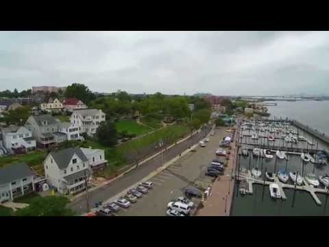 Yuneec Q500 flying over Perth Amboy  New Jersey  Pt.1