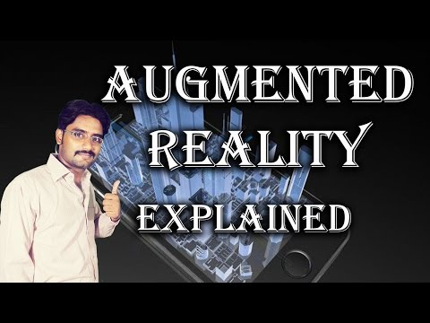 Augmented Reality Detail Explained in Hindi/Urdu