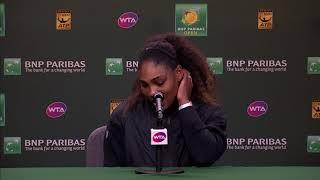 BNP Paribas Open 2018: Serena Williams 3R Press Conference
