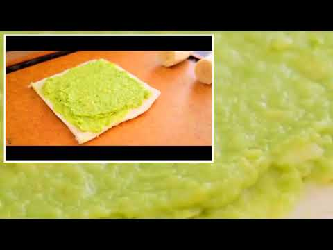 [Learn to cook Chinese food] Fast breakfast for kids love to eat Avocado banana toast roll 375