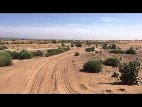 Erg Chigaga sandy route