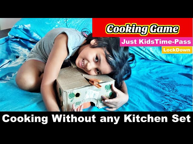 Cooking Game in Hindi Part -5  | Without any Kitchen Set | Random Game By Pari | #LearnWithPari