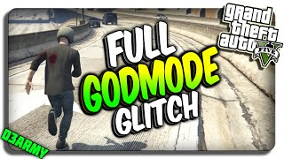 GTA 5 Glitches - INSANE God Mode Glitch In GTA 5 Online Self Destruct Glitch (GTA 5 God Mode Glitch)