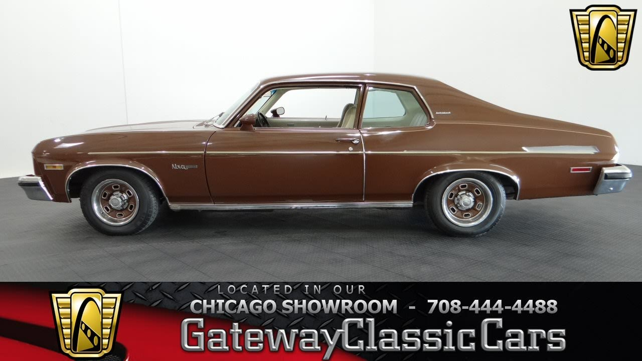 All Chevy 1973 chevy nova : 1973 Chevrolet Nova Hatchback #592 - YouTube