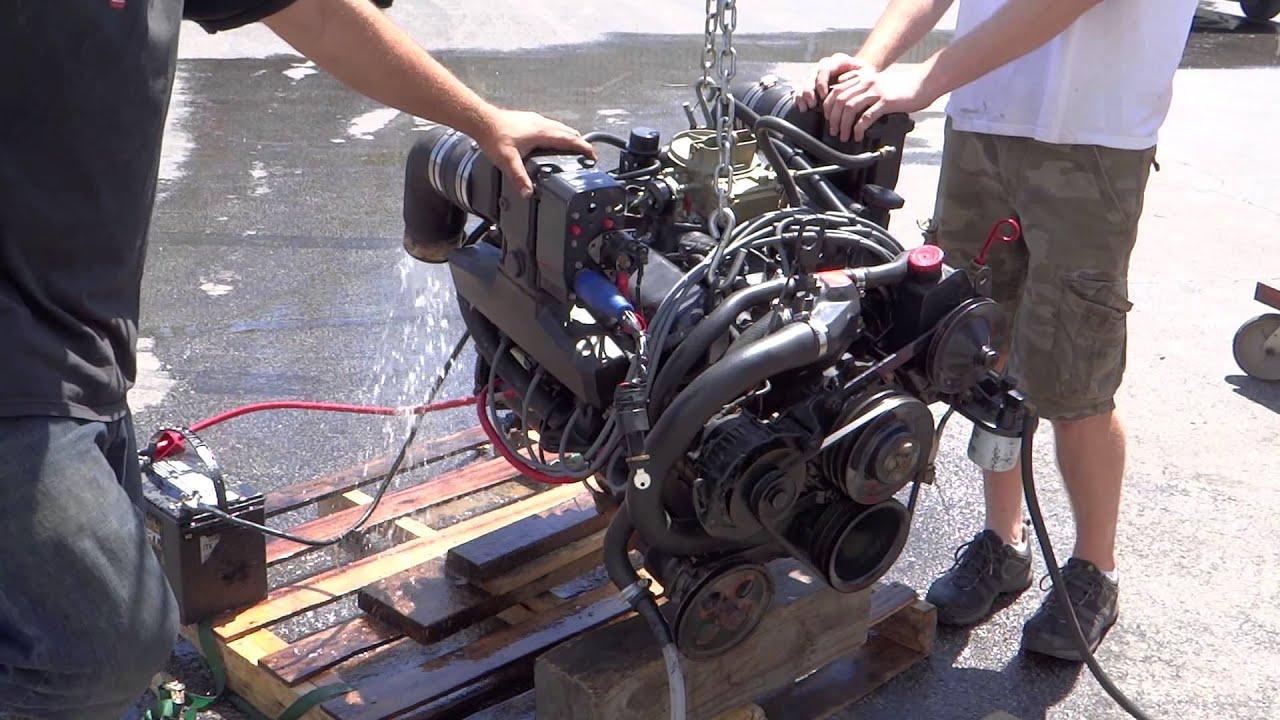 volvo penta 5 0l 302ci ford complete marine engine model 5 0fl 132 ford 302 water pump pulley ford 302 marine engine diagram [ 1920 x 1080 Pixel ]