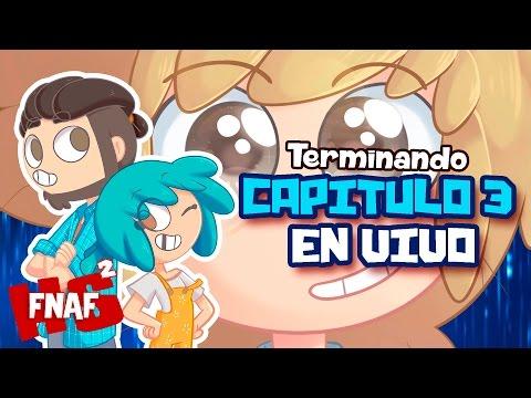 LOCURA #FNAFHS - TERMINANDO CAPÍTULO 3 EN DIRECTO
