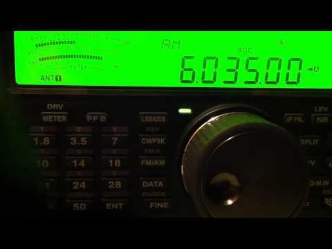 6035 KHz   Radio Bhutan BS (Thimphu)