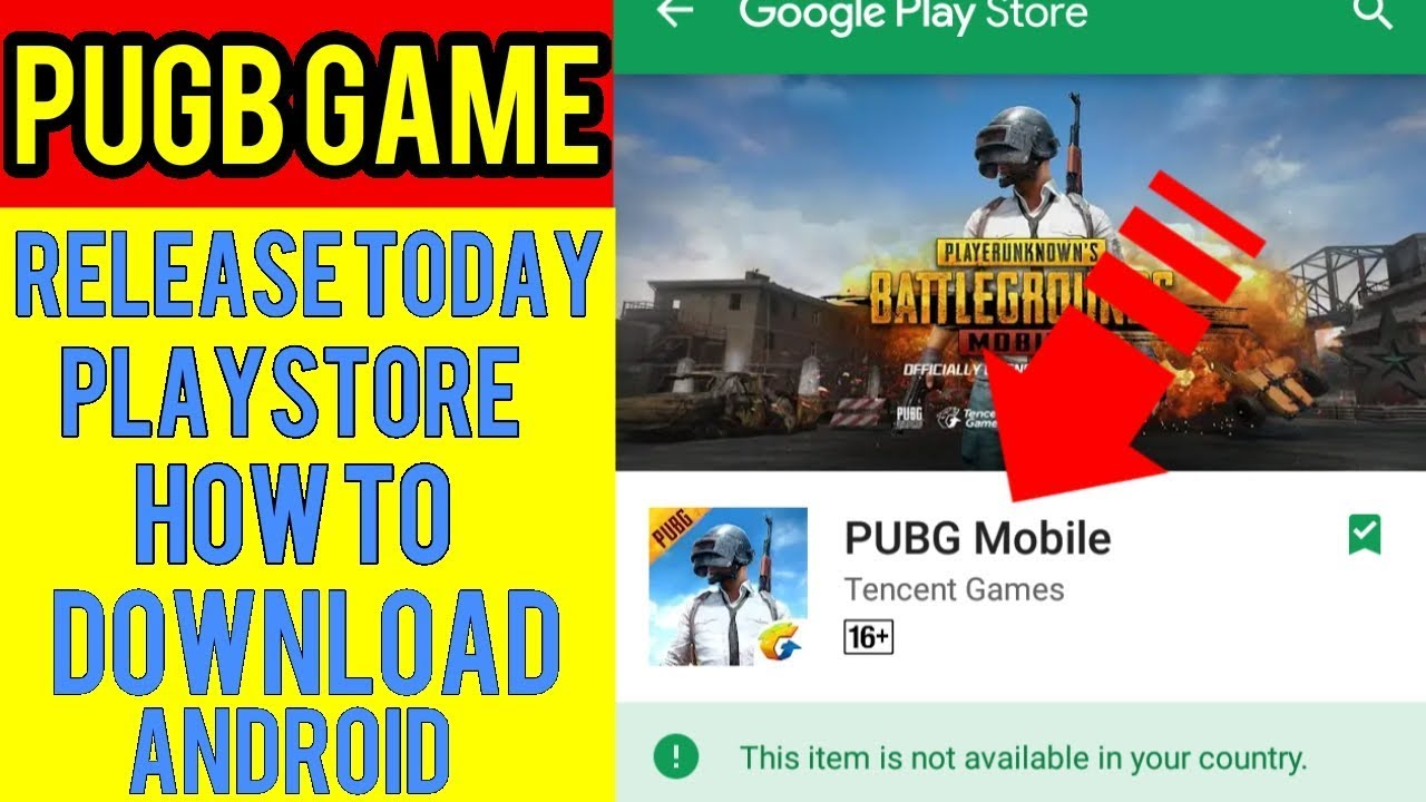 How to download PUGB game in android phone english language [ PUGB GAME को कैसे INSTALL करे  ]