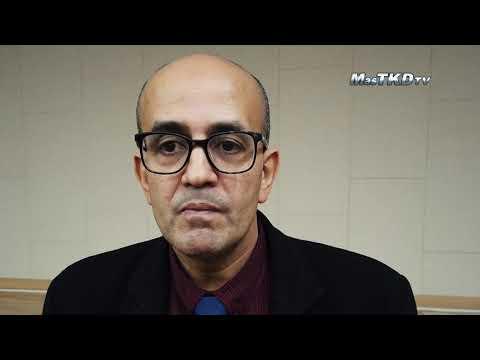 WT Poomsae Referee Chair Mustapha Moutarazak: