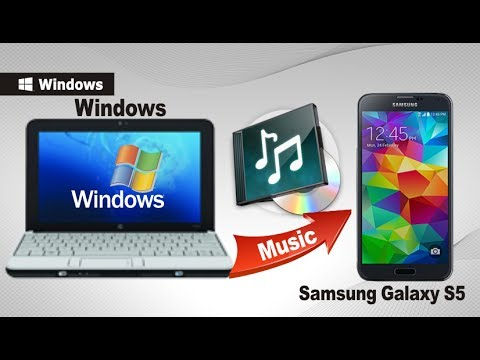 [Music to Galaxy S5]: How to Transfer & Import Music from Computer to Samsung Galaxy S5 , S6
