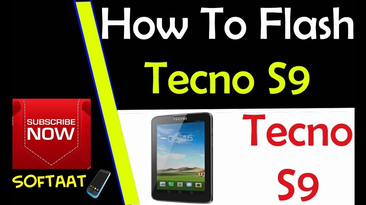 How To Flash Unbrick Tecno S9 100% Work 🚩
