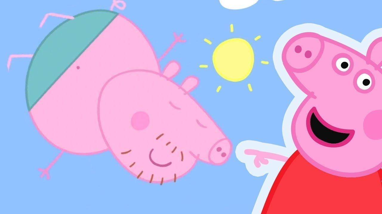 Свинка Пеппа на русском все серии подряд | Большой прыжок свиного папы | Мультики