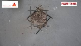 Oprava špatně realizované podlahy