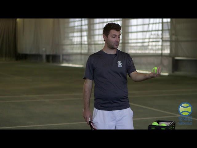 Coach Virtuel - S1E1 : Améliorer le lancer de balle au service