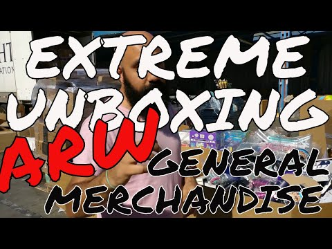 Extreme Unboxing: ARW Customer Return General Merchandise Loads