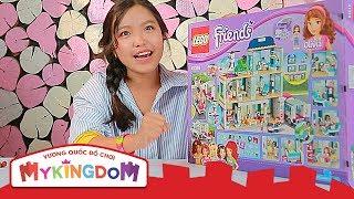 Mở hộp và Lắp ráp Bệnh Viện Hearlake 41318 | Review  LEGO FRIENDS Bữa Tiệc Bãi Biển